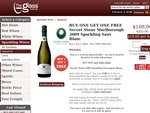 Buy One Get One Free.  Secret Stone Marlborough 2009 Sparkling Sauv Blanc.