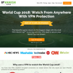 IPVanish VPN | 1 Year VPN for $58.49 USD (60% OFF) | 3 Months VPN for $20.24 USD (44% OFF) | FIFA Sale