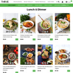 $30 off $100 Spend on Ready Fresh Meals @ THR1VE