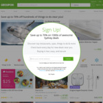 10% off Local Deals (Max Discount $40, Unlimited Redemptions) @ Groupon