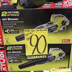[VIC] Ryobi 2 Stroke Petrol Jet Blower $90 (Was $269) @ Bunnings Fountain Gate
