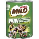 Nestle Milo Choc-Malt 1kg $9 ($0.90 Per 100g) @ Woolworths