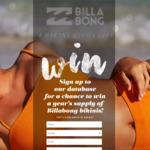 Win a Year's Supply of Bikinis Worth $1,000 from Billabong