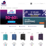 50-60% off Site-Wide @ Kamiliant by American Tourister - Luggage from $59.60 Delivered