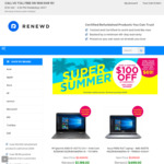 OzBargain BDAY Special: Extra $130 off ($349+ Spend) + Free Shipping on Refurbished MacBooks, Surface, Laptops and iPads @Renewd