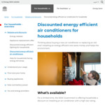 [NSW] Air Conditioner Rebates @ NSW Government