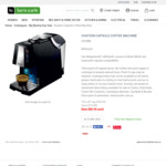 Ovation OVC888 Multi-Pod Coffee Machine $89.95 @ Harris Scarfe