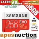[eBay Plus] Samsung EVO Plus 256GB Micro SD Card $65.98 Delivered @ Apusauction eBay