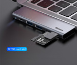 Baseus 5in1 Notebook Multi-Function Dock USB C to USB 3.0 PD Charging SD/TF Card Reader Hub $18.99 (Was $28) Delivered @eSkybird