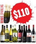 Winemarket - A Super Mixed Dozen Plus 2x Bonus Sparkling! $110