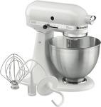 KitchenAid Classic Stand Mixer KSM45 $399 + $130 Store Credit (C&C) + Free Food Grinder / Mixer @ The Good Guys
