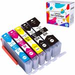 Compatible Canon PGI-670XL CLI-671XL Ink Cartridge $12.55 (20% off) + Delivery (Free with Prime/ $49 Spend) @ Hehua-AU Amazon