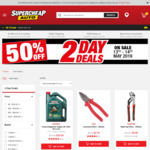50% off Toolpro and SCA Pliers and Screwdrivers @ Supercheap Auto