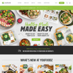 Youfoodz: $15 off, 20% off Meal Kits, 8 Meals ($6.10ea) for $48.84