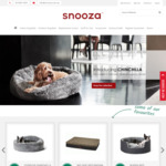 [VIC] 20% to 80% off Seconds and Discontinued Pet Beds and Pet Products @ Snooza, Braeside
