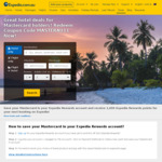 11% off Expedia Hotels when Paying by Mastercard (Hotel Exclusions Apply)