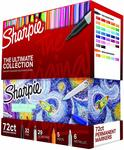 Sharpie Permanent Markers Ultimate Collection Assorted Colors, 72 Count $48 + Delivery ($0 with Prime & $49+) @ Amazon US via AU