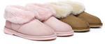 UGG Kids Mallow Australia Sheepskin Slipper $25 (Was $96) Delivered @ Ugg Express