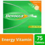 Berocca Energy Vitamin Tablets 75pk $20.99, 30pk $8.88 (40% off) + Delivery ($0 with Prime/ $49 Spend) @ Amazon AU