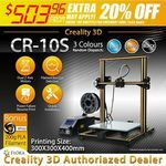 Creality CR-10s 3D Printer $503.96 Delivered @ Floralivings eBay
