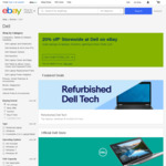 20% off @ Dell eBay (Max Discount $1000)