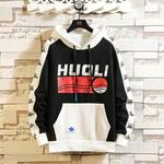 Men HUOli Printed Large Size Hoodies for US $34.73 (~AU $50.62) + Delivery @ Umorechic