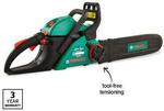 Petrol Chainsaw $99.99,  Mower $149, Line Trimmer $89.99, Blower Vac $99.99 @ ALDI