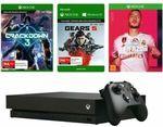Xbox One X 1TB Console + FIFA 20 + Gears 5 Token + Crackdown 3 Bundle $529 Delivered @ Big W eBay