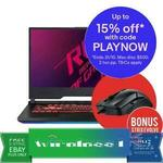 Gaming Laptop: ASUS ROG Strix G i7-9750H GTX1660Ti $1,677.90, RTX2060 $2,081.65 + Free Evolve RGB Gaming Mouse @ Wireless1 eBay