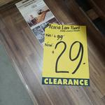 [NSW] Acacia Wood Laminated Panel 2200 x 600 x 26mm for $29 (Normally $99) @ Bunnings Lidcombe