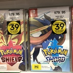 [Switch] Pokemon Sword or Shield $39 When Trade 2 Eligible Games @ EB Games