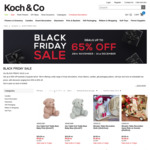 Black Friday Deals (50% to 65% off Xmas Decorations, Gift Packaging + More) @ Koch & Co