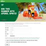 Win 1 of 3 Aperol Summer Packs Worth $160 from The Bottle-O/Cellarbrations