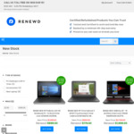 $225 off Selected New HP Products (Min $599 Spend) + Free Bag (Valued $22) + 1 Yr HP Warranty @ renewd