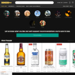 Free Shipping (Min Spend $70, Metro Areas Only) @ BoozeBud