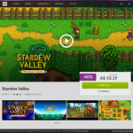[PC] Stardew Valley $10.19 DRM Free @ GOG