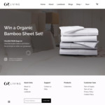 Win a Bamboo Sheet Set Worth $190 from OZ Living