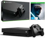 [eBay Plus] Xbox One X 1TB + Star Wars Jedi $395.21 | PS4 Pro 1TB Fortnite Bundle $395.21 Delivered @ Gamesman eBay