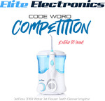 Win a JetFloss JF169 Water Flosser worth $99.95 from Elite Electronics