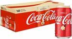 Coca-Cola Vanilla 10x 375ml Can Pack $6.50 + Delivery ($0 with Prime/ $39 Spend) @ Amazon AU