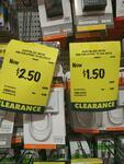[QLD] Antsig Mini Displayport to DVI - $2.50 / VGA - $1.50 @ Bunnings Hervey Bay (Clearance - Normally ~ $20)