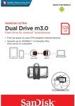 SanDisk Ultra Dual USB OTG Drive M3.0 128GB $30 + Delivery or Free C&C @ Big W (Selected Stores)