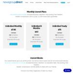 1TB Block Usenet - Newsgroupdirect - $7USD