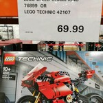 LEGO Technic Ducati Panigale V4 R 42107 (RRP $89.99) $69.99 (In-Store Only) @ Costco (Paid Membership)