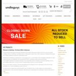 Minimum 50% off All Stock - Closing down Sale @ UndieGuys