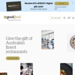 Good Food Gift Card 10% off $100+ Digital Gift Cards @ Good Food Gift Card