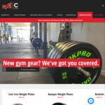 5% off Everything* in Gym Equipment & Gear @ Catch Fitness