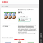 Collect 1 Free UP&GO Dairy Free @ Coles (flybuys Members)