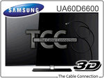 "Samsung 60"" LED TV - UA60D6600 - $2299 (after $100 Cashback) - Melb. P/up or Delivery from $34.85"