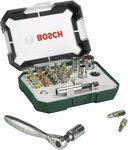 Bosch 26-Piece Screwdriver Bit and Ratchet Set w/ Colour Coding $12.50 (Was $23) + Delivery ($0 w/ Prime/ $39 Spend) @ Amazon AU
